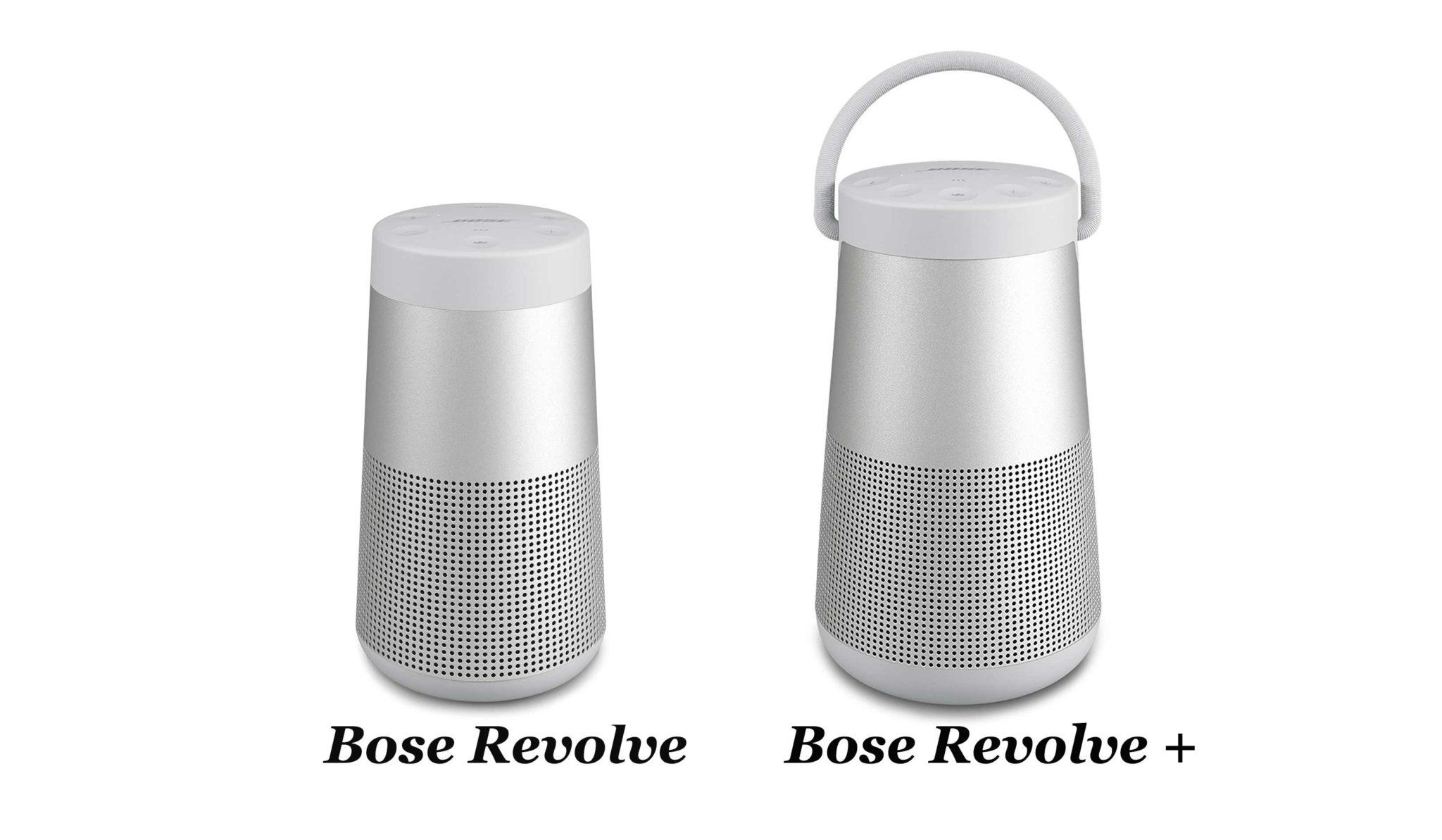 Bose-Revolve-vergleich