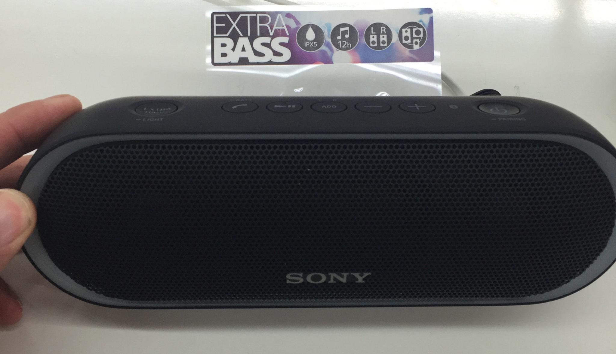 Sony SRS-XB-20 Farbe schwarz