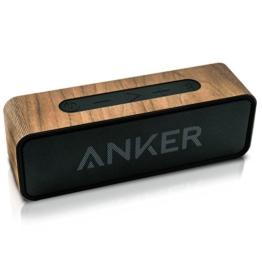 balolo Walnuss Echtholzcover für den Anker SoundCore -