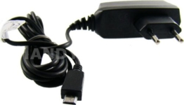 caseroxx Handy Ladekabel Micro USB Kabel für Anker SoundCore, hochwertiges Ladegerät mit Netzteil zum Aufladen (flexibles, stabiles Kabel in schwarz) -