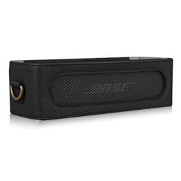 Fintie Bose SoundLink Mini / Mini II Bluetooth Speaker Hülle Abdeckung - Hochwertiges Kunstleder Schutzhülle Tasche Case mit Abnehmbarem Band für Bose SoundlLink Mini 1 / 2 Bluetooth Wireless Speaker, Schwarz -