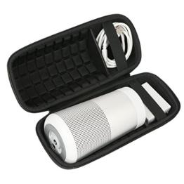 für BOSE SoundLink Revolve - Bluetooth Lautsprecher EVA Hart Reise Tragetasche Tasche von Khanka -