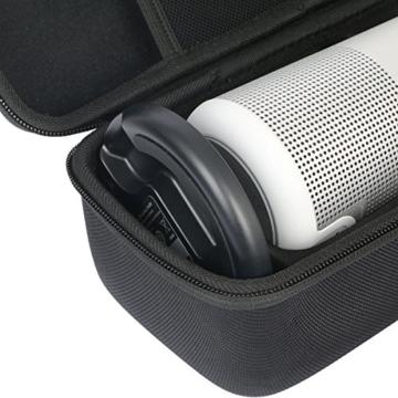 für BOSE SoundLink Revolve - Bluetooth Lautsprecher Passt Ladeschale Hart Reise Tragetasche Tasche von Khanka -