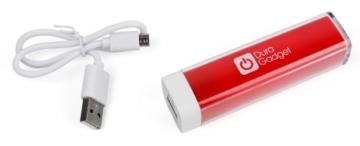 Für Ihre Sony SRS-XB10 | XDR-P1DBP | SRS-ZR5 | SRS-X5 | SrS-XB-40 | SRS-XB-30 | SRS-XB-20 und SRS-XB-10 tragbaren Lautsprecher: Notstromversorgungs-Stick mit USB und Mikro USB ROT -