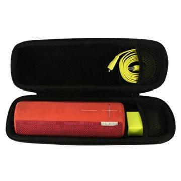 Khanka EVA Hart Fall Reise Tragen Tasche für Ultimate Ears UE BOOM 2 bewegliche mobile Bluetooth Kabellose Lautsprecher, Passend für Ladegeräte und Kabel -