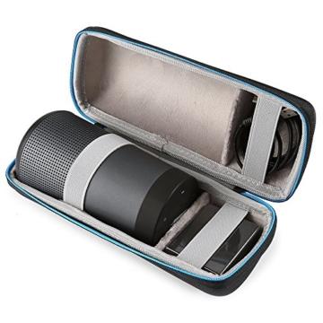 Poschell Harte Case Hülle Reise Tasche für Bose SoundLink Revolve Bluetooth Lautsprecher -