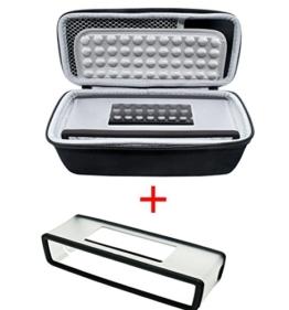 Poschell Harte stoßfest Reise Tasche mit weicher Abdeckung für Bose SoundLink Mini I und Mini II Bluetooth Lautsprecher -