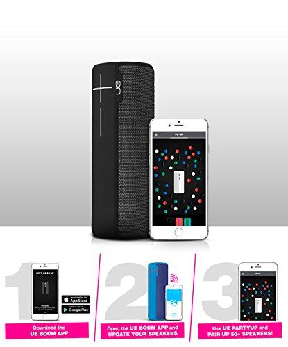 UE Boom 2 mit Smartphone