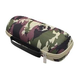 Verbessert Charge 3 Tasche, Pushingbest Erstklassiger PU-harter EVA Fall-reisende Schutztasche Hülle Aufbewahrungsbeutel für JBL Charge 3 Bluetooth Camouflage -