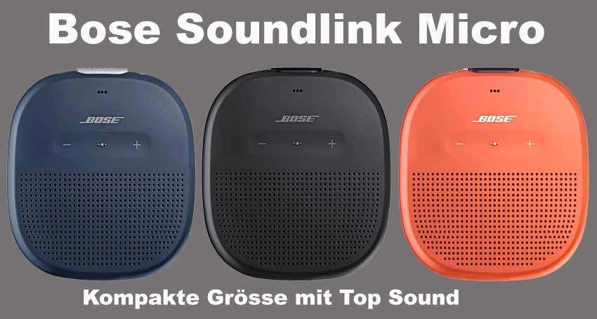 li il bose soundlink micro im test wie gut ist er wirklich. Black Bedroom Furniture Sets. Home Design Ideas