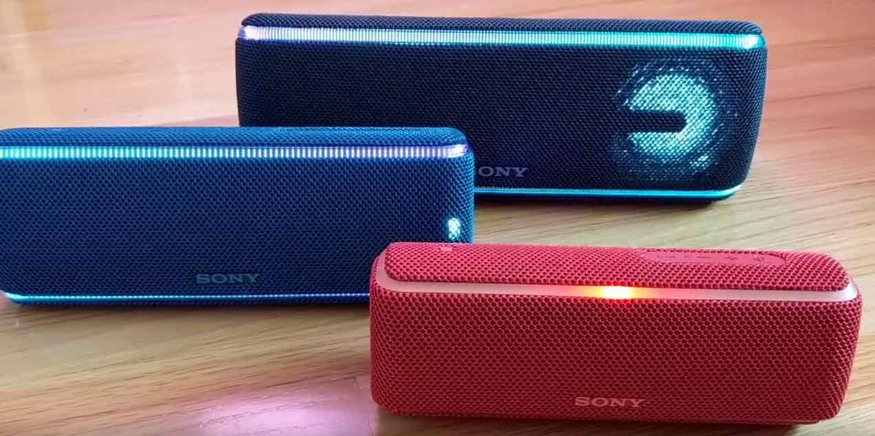 Sony-SRS-XB-21-31-41 Bluetooth Lautsprecher