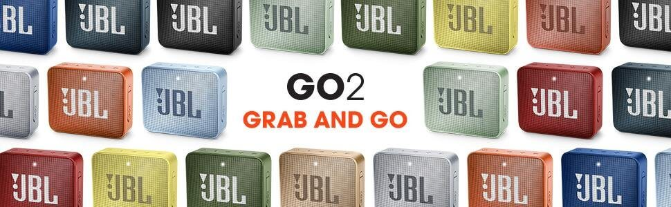 Jbl Go2 erhältlich in 12 Farben ©JBL