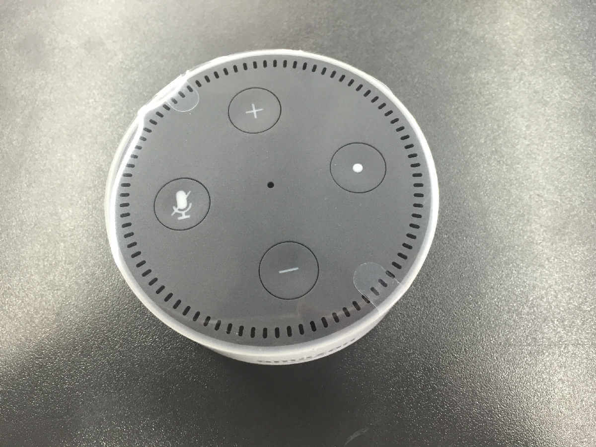 Amazon Echo Dot 2 Bedienelemente