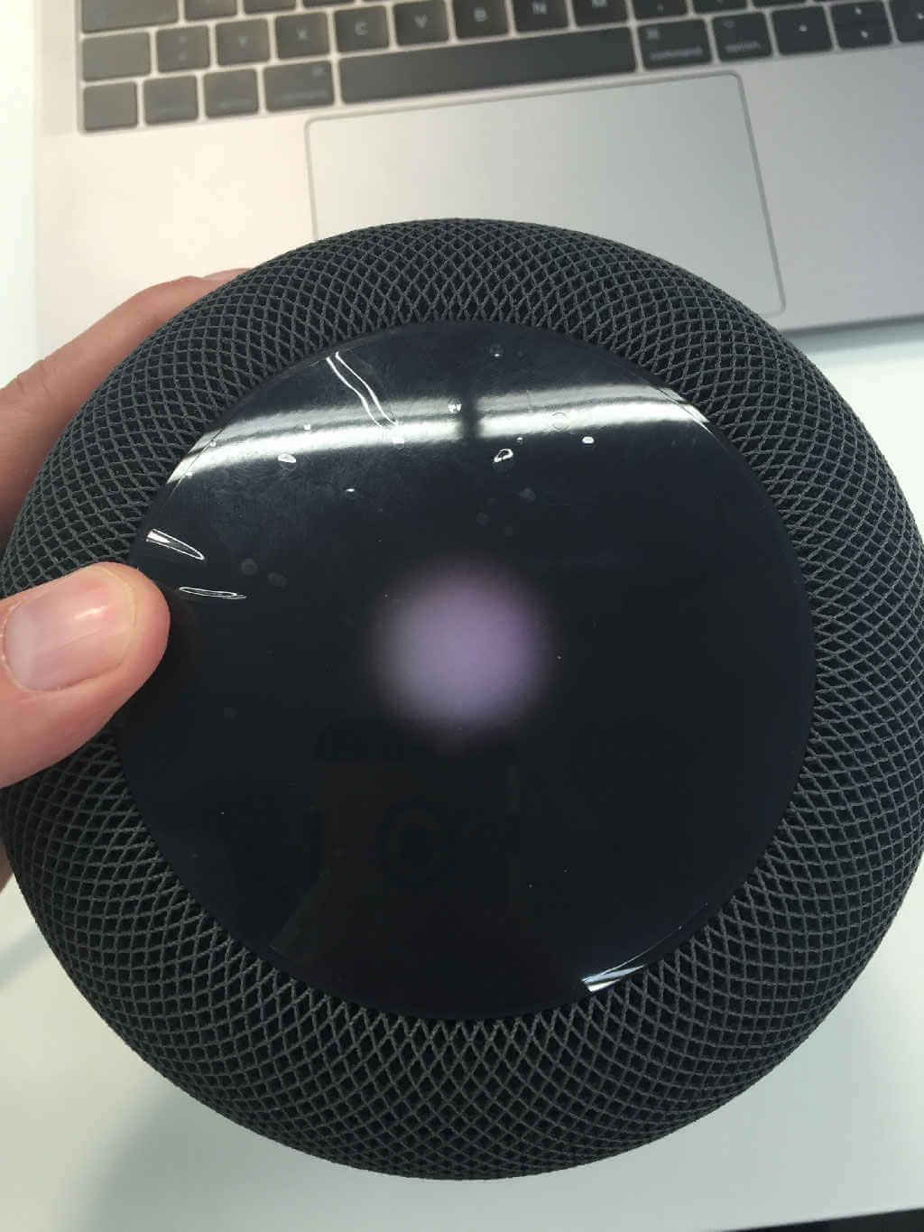 Apple HomePod Led-Anzeige