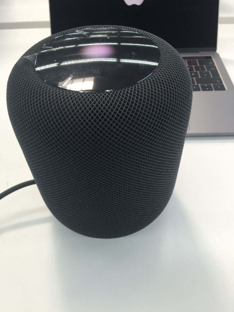 Apple HomePod in Space Grau