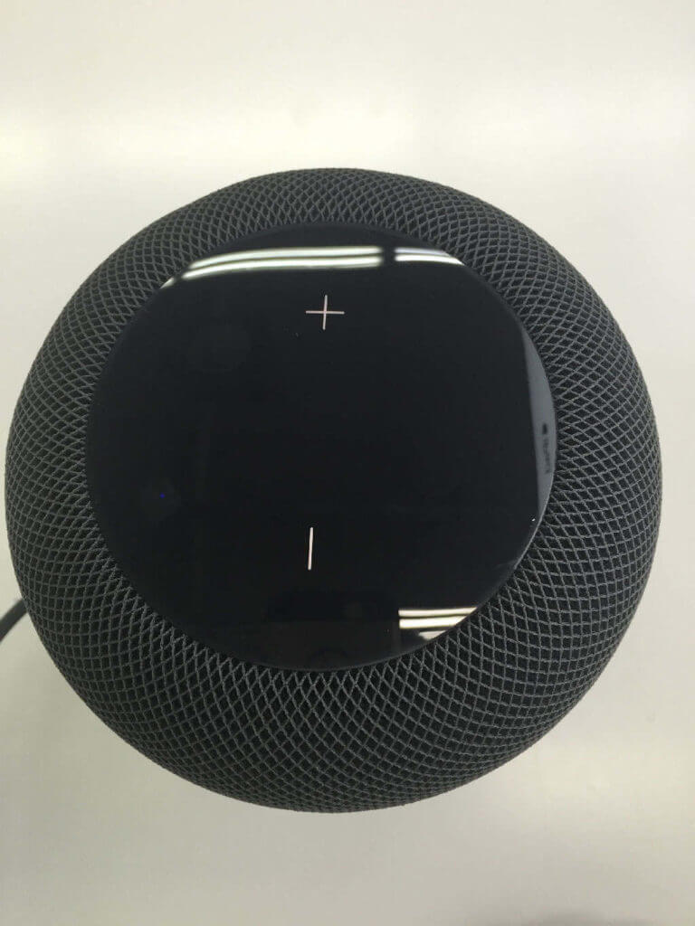 Apple HomePod Bedienelemente