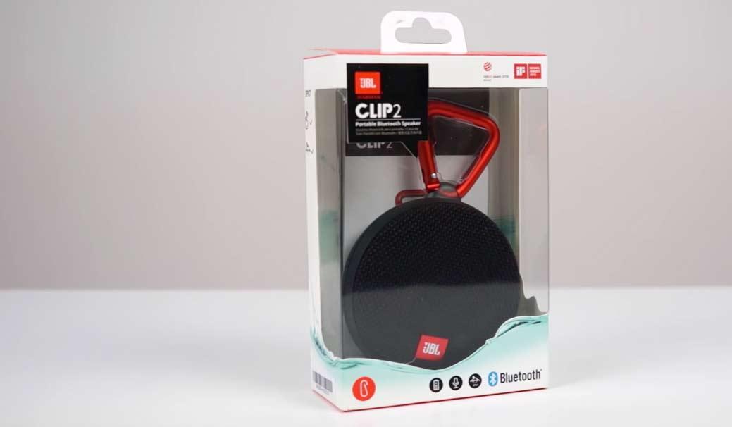JBL Clip 2 Verpackung