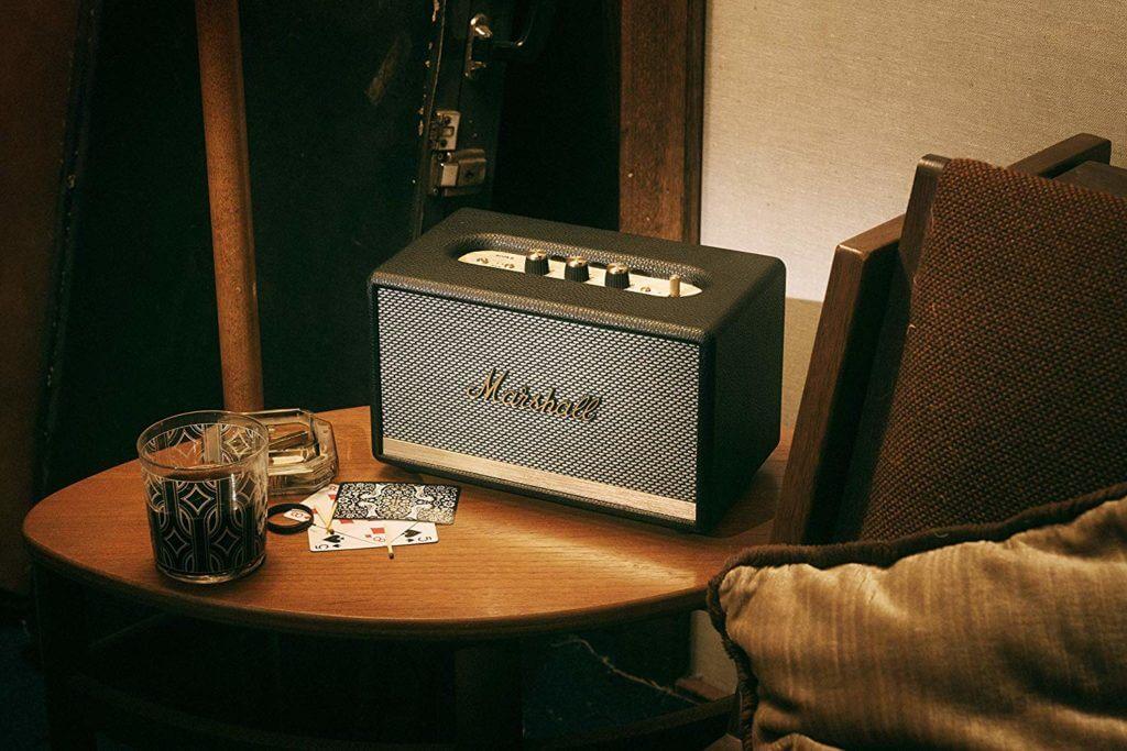 Marshall Acton II Bluetooth Lautsprecher - Schwarz-2
