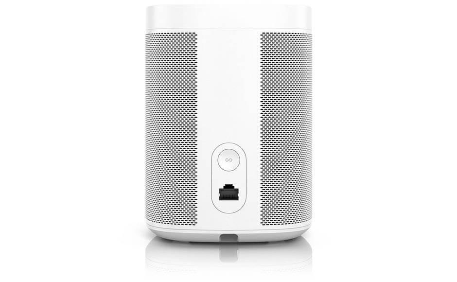 Sonos One 2. Generation Anschluesse (Bild: Sonos)