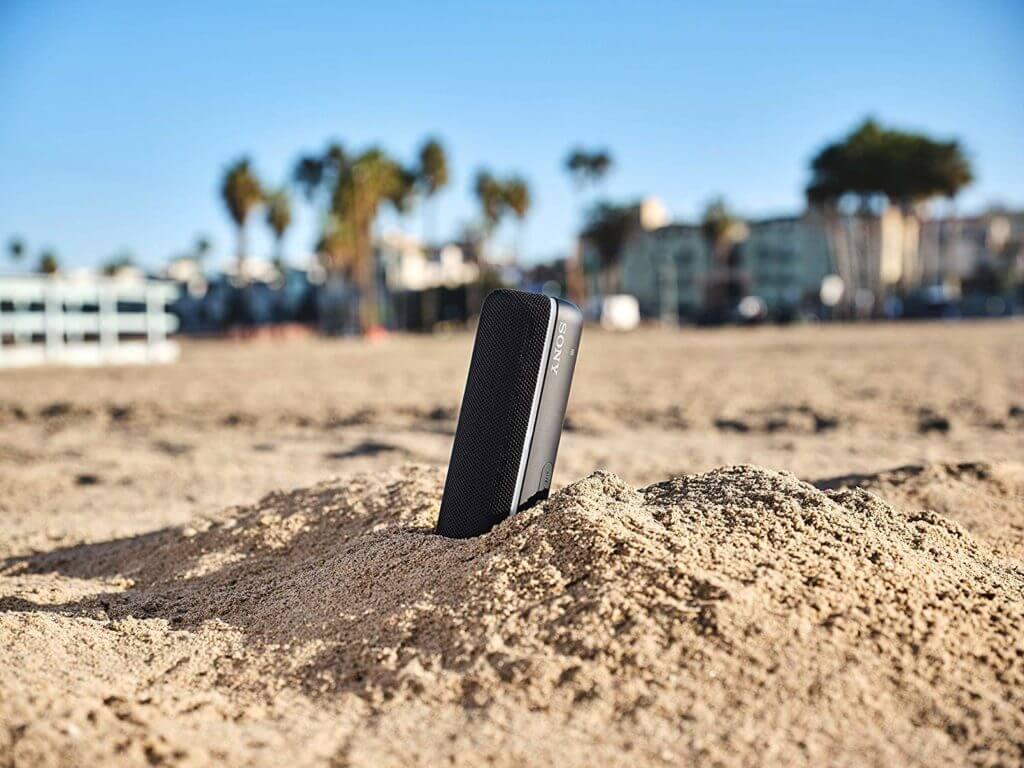 Sony SRS-XB22 Bluetooth Lautsprecher in Schwarz