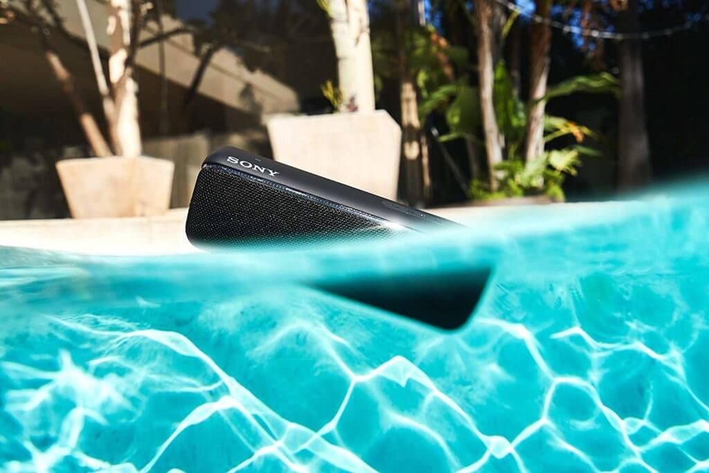 Sony SRS-XB32 mit Wasserschutz IP 67