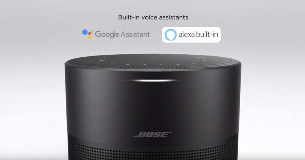 Bose Home 300 mit Google und Alexa Sprachsteuerung