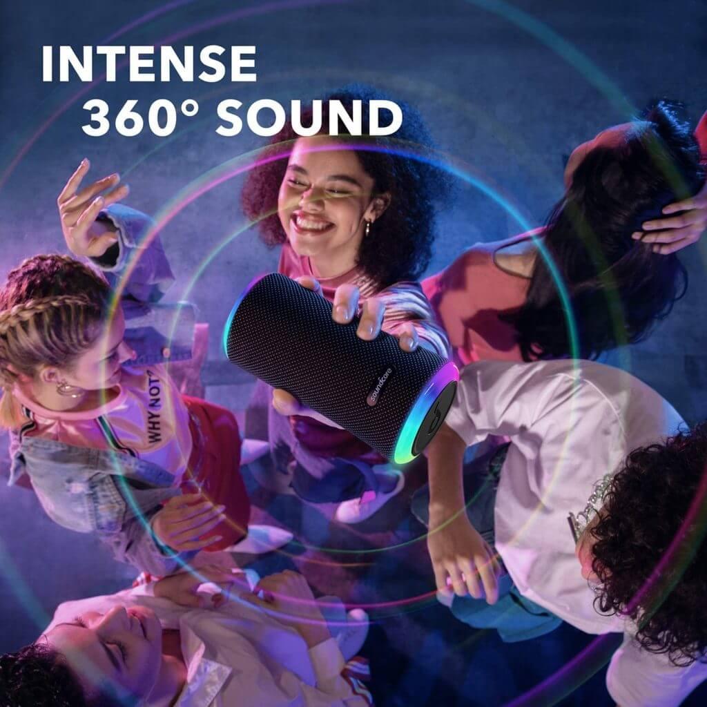 Anker Soundcore Flare 2 mit 360 Rundum Sound