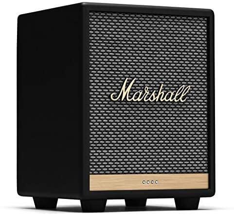 Marshall Uxbridge Voice Front Ansicht mit Logo und LED