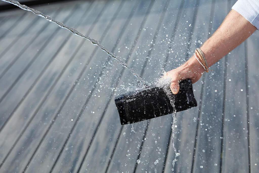 Sony SRS-XB33 mit Wasserschutz IP67
