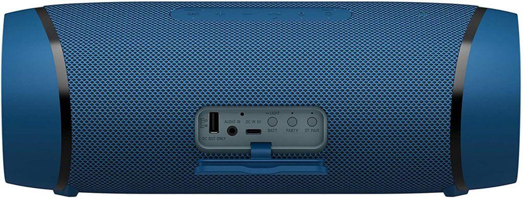 Sony SRS-XB43 Anschlüsse