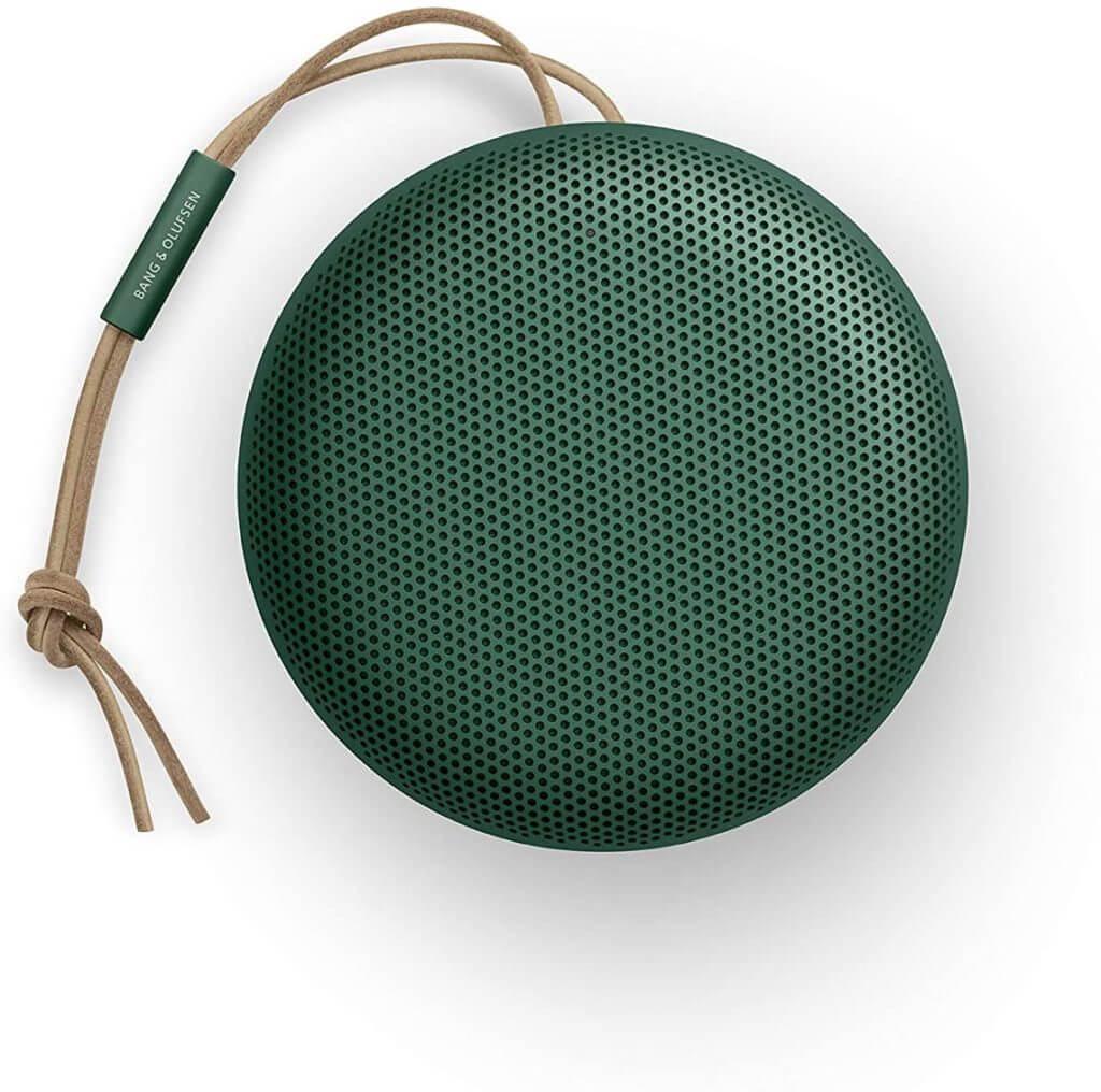 Beosound A1 (2. Generation) mit Lautsprechergitterperforationen