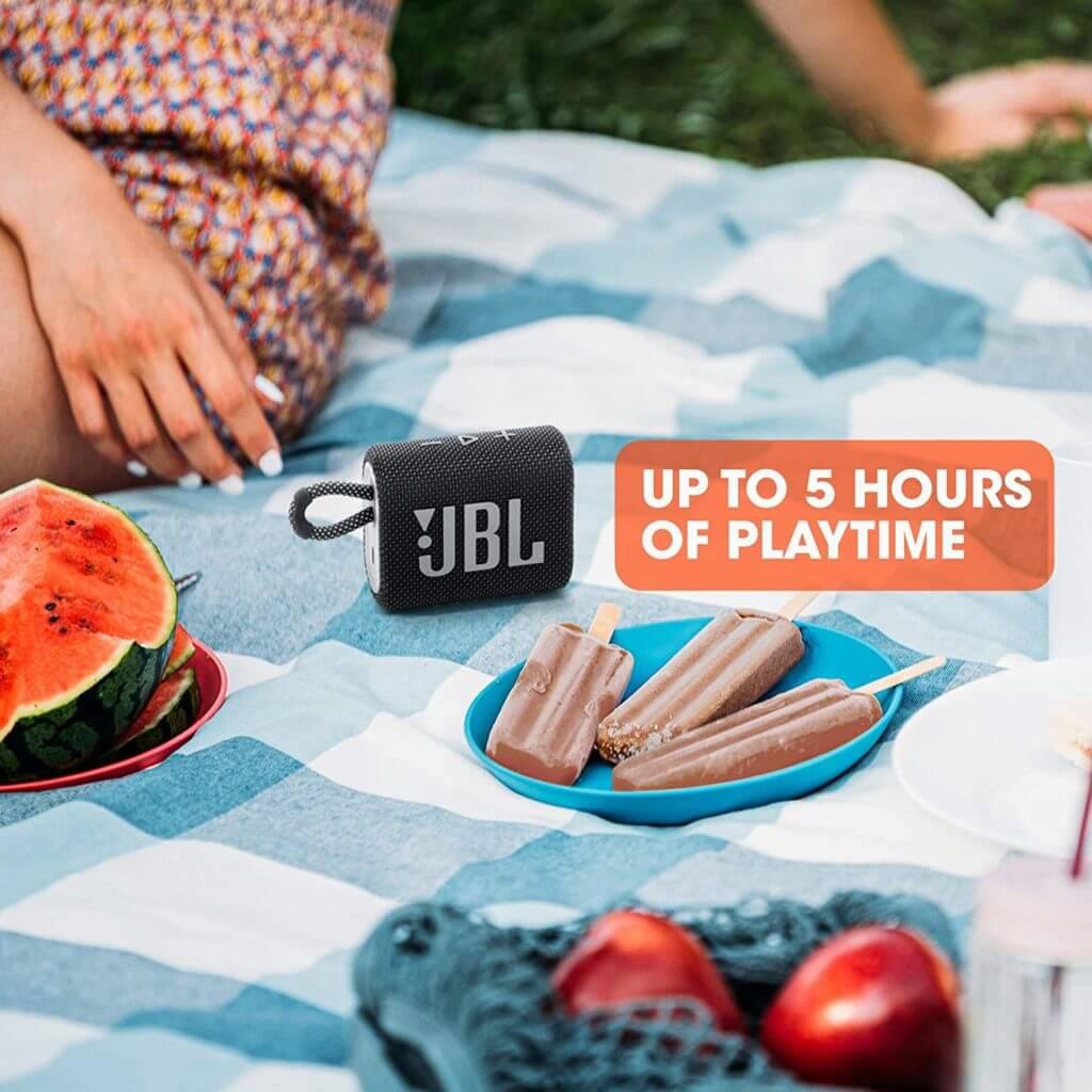 JBL GO 3 kleiner Bluetooth Lautsprecher