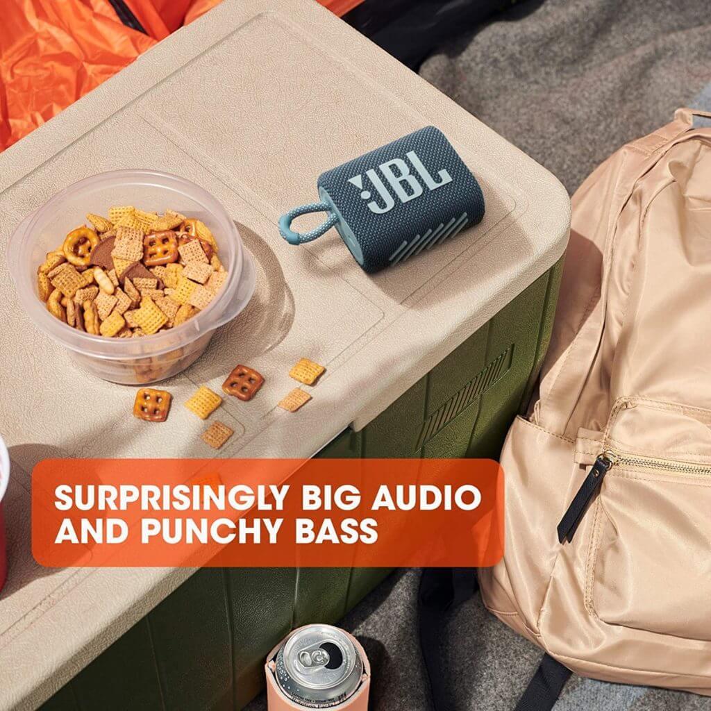 JBL Go 3 im Test: Klarer Sound und toller Bass