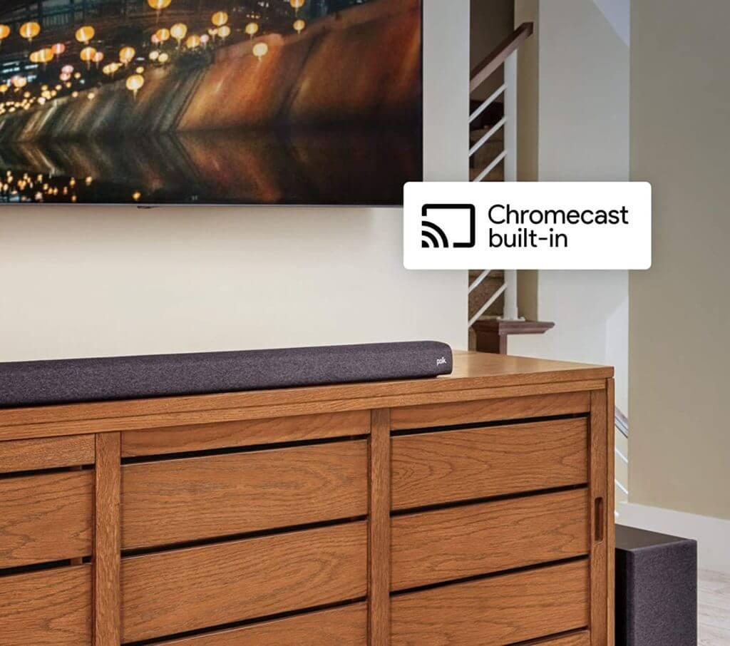 Polk Audio Signa S3 unterstützt Chromecast Audio und Google Assistant Sprachbefehle