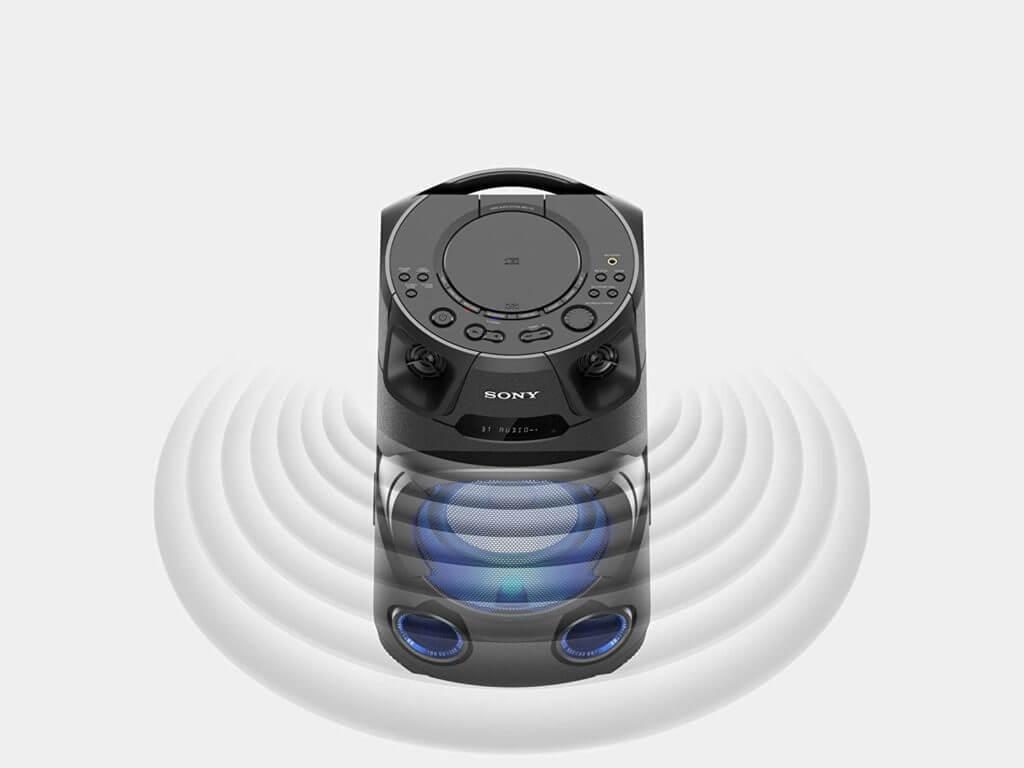 Sony MHC-V13 mit Bluetooth und NFC
