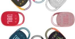 JBL CLIP 4 Bluetooth Lautsprecher erhältlich in 8 verschiedenen Farben