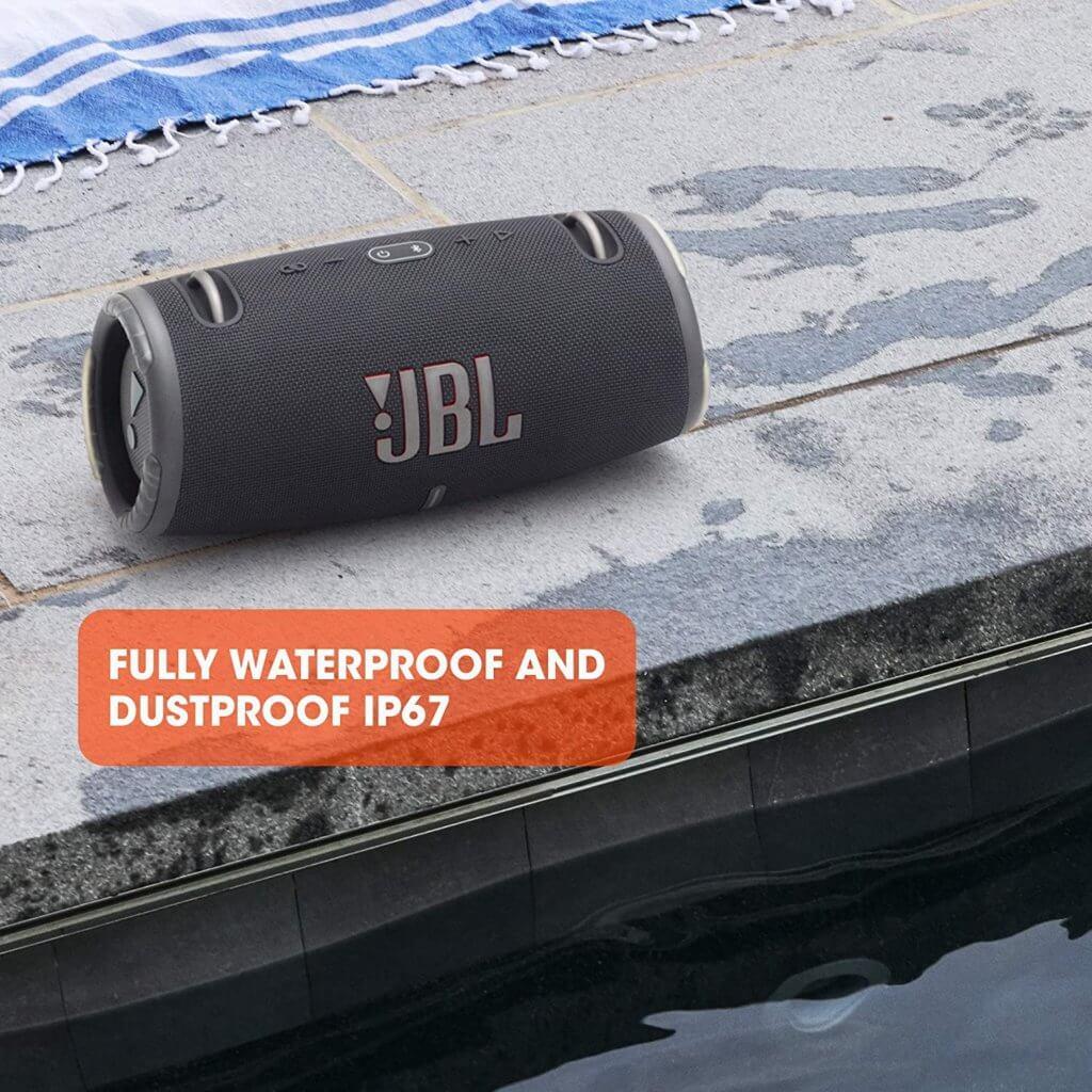 JBL Xtreme 3 mit Wasserschutz IP 67