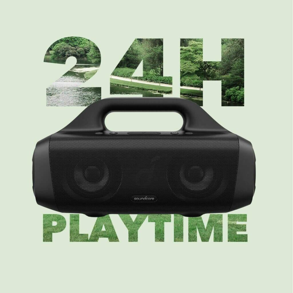 Anker Soundcore Motion Boom mit 24 Stunden Akkulaufzeit