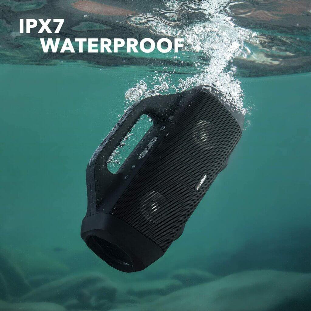 Soundcore Motion Boom mit IPX 7 Wasserschutz