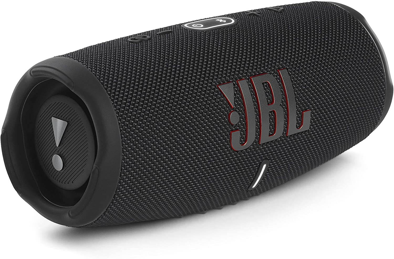 JBL Charge 5 Bluetooth Lautsprecher in Schwarz