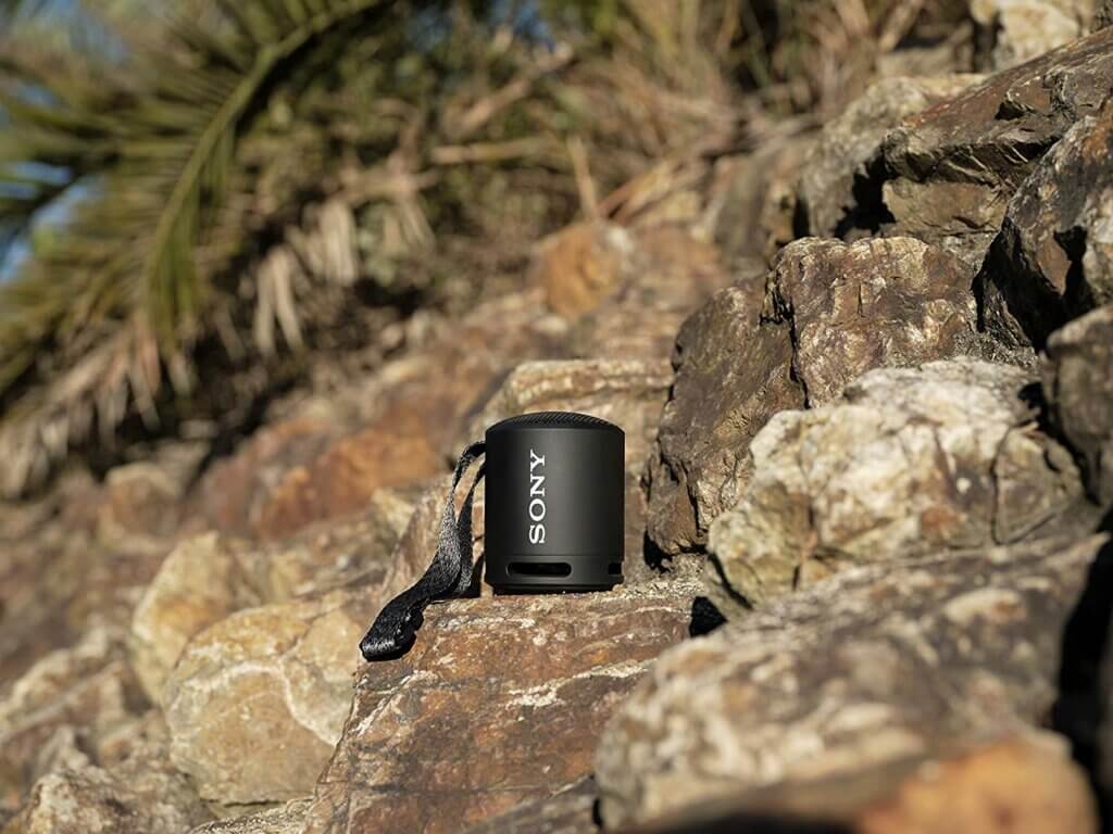 Sony SRS-XB13 Bluetooth-Lautsprecher in Schwarz