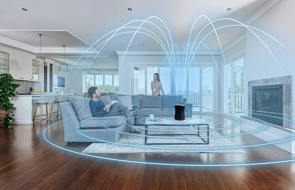Sony SRS-RA5000 mit 360 Reality Audio Technik