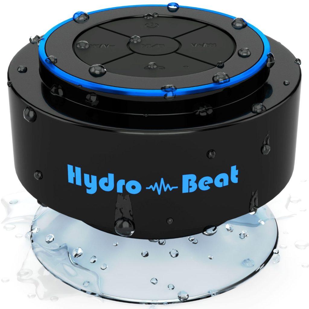 Bluetooth Lautsprecher Hydro-Beat mit Siri Funktion, Wasserschutz, Farbe Blau