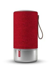 Große Bluetooth lautsprecher Libratone ZIPP Copenhagen Edition ist eine klasse für sich in der Farbe Rot