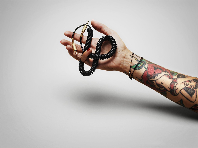 Marshall Acton Klinken Kabel schwarz