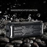 Pictek Bluetooth Boxen auf Steinen