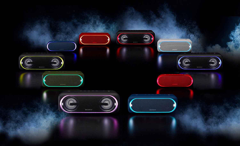 Sony-SRS-XB-30 Verschiedene Farben
