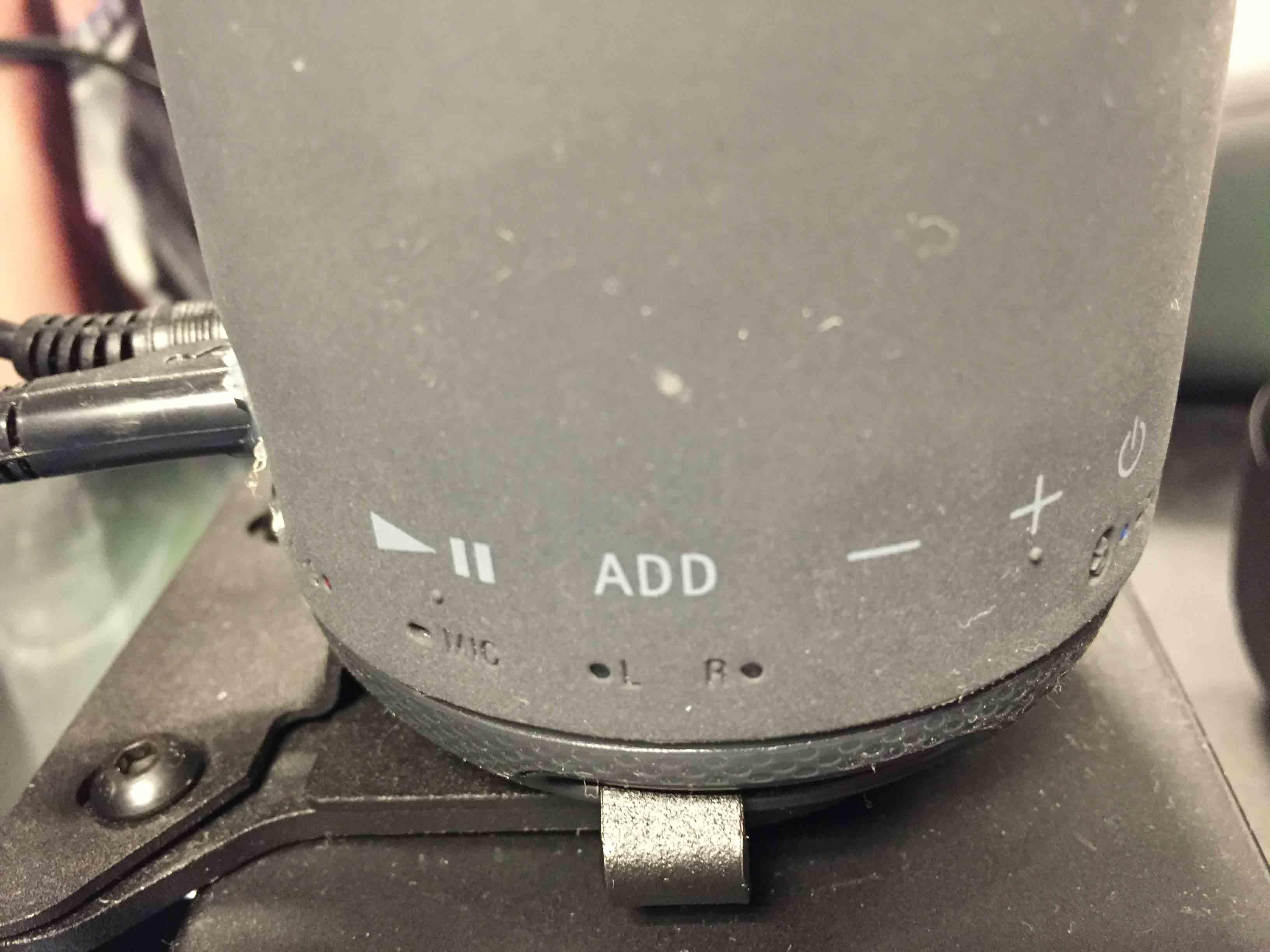 Sony SRS-XB 10 Bedienfeld