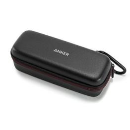 Anker SoundCore Tragetasche - Kunstleder Case, Premium Schutztasche für den Anker SoundCore & SoundCore 2 Bluetooth Lautsprecher, Hülle Cover (Schwarz) -