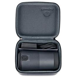 Für Bose Soundlink Revolve, AresKo Schutzhülle Tasche Hülle für Bose SoundLink Revolve Bluetooth Lautsprecher, passend für das Aufladen von Dock und Kabel -